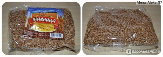 """пшеница для проращивания от ТМ """"Ваше здоровье"""""""