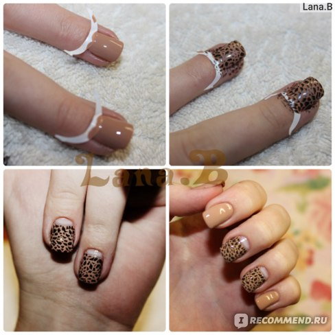 Трафареты для французского маникюра Aliexpress French Manicure Nail Art Tips Form Fringe One Style Guides Nail Sticker DIY Stencil 5723 фото
