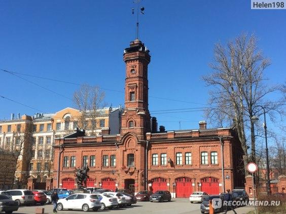 Пожарная станция на Большом проспекте ВО