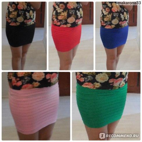 Юбка AliExpress 2013 Free shipping Summer pleated skirt high waist bust above knee mini lady or women fashion short skirt hot sal 16 colors фото
