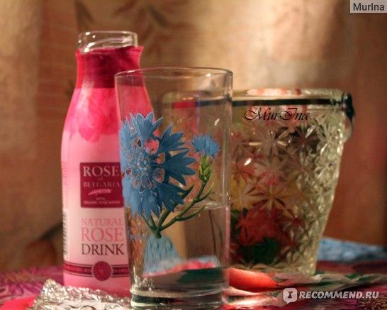 "Напиток Rose of Bulgaria Natural rose water beverage ""Delight"" фото"