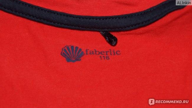 Футболка Faberlic D1220/Д1220 с коротким рукавом для девочки, цвет коралловый фото