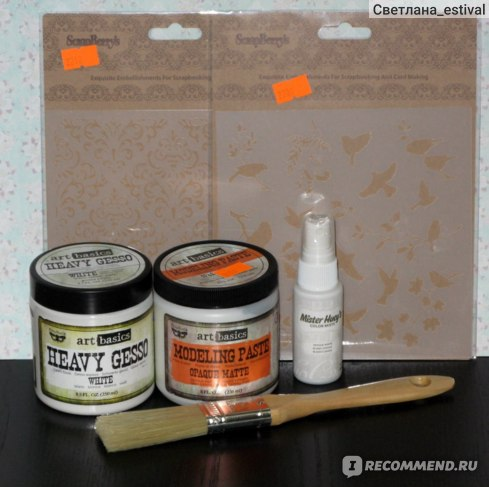 Моделирующая паста Modeling paste Art Basics Opaque Matte (Prima Marketing) фото