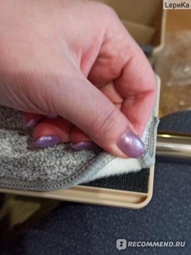 Швабра с отжимом и ведром для полоскания Hauswell Smart Mop Kit фото