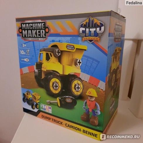 Machine Maker Конструктор Самосвал 40011 фото
