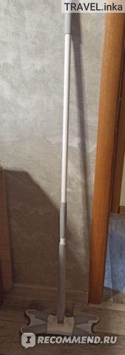 Швабра с отжимом SOKOLTEC  без ведра с одной насадкой фото
