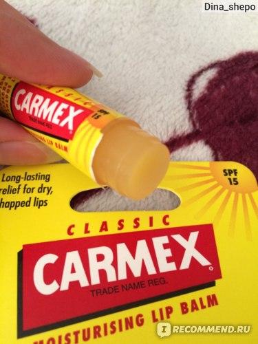 Бальзам для губ Carmex Protecting Original фото