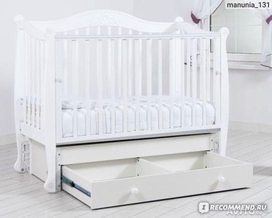 Кроватка Гандылян (Gandilyan)  Моника - универсальный маятник фото