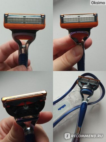 Бритвенный станок Gillette Fusion фото