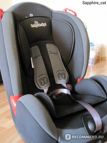 Детское автокресло Baby Design Amigo  фото