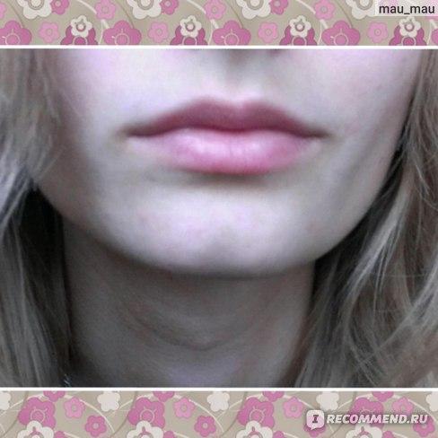 Так выглядят мои губы без макияжа