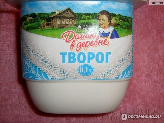 Творог Домик в деревне МЯГКИЙ 0,1% 250Г фото