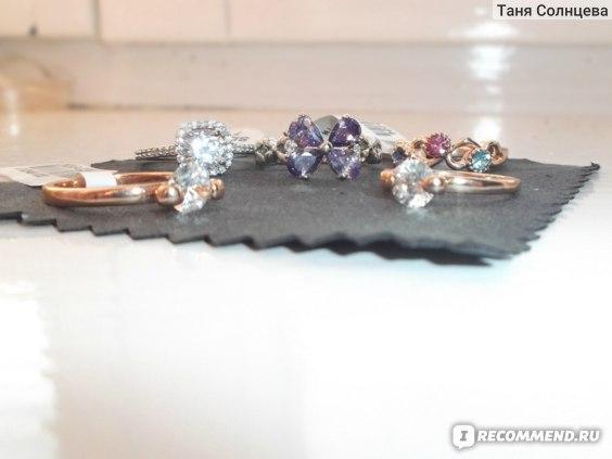 Кольцо Aliexpress ROXI Exquisite wedding Rings platinum and Rhodium plated with AAA zircon фото