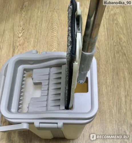 Швабра с ведром и отжимом Reyer Fast Cleaner фото