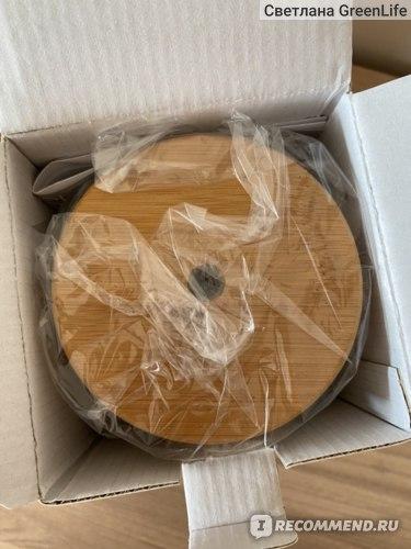 Аромадиффузор Now Foods Solutions, ультразвуковой диффузор масла из натурального бамбука фото