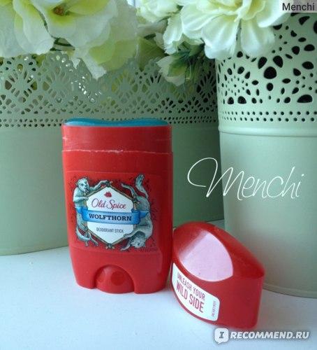 Дезодорант  Old Spice  WOLFTHORN Deodorant stick (твердый стик) фото