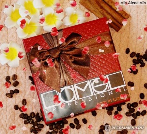 Палетка теней Lamel Professional CHOCOLATE EYESHADOWS фото