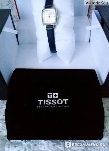 Часы женские TISSOT Lovely Square  фото
