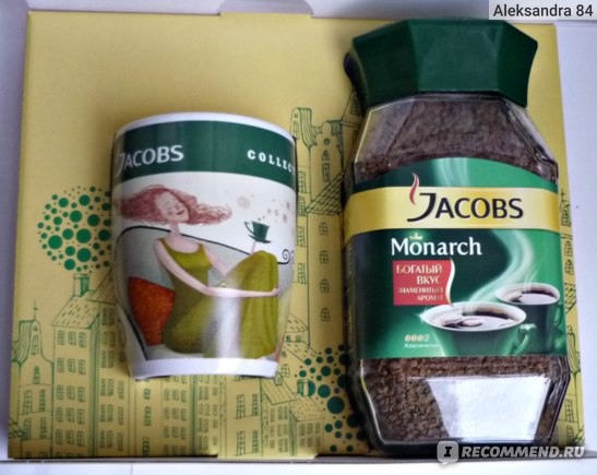 Кофе Jacobs Monarch фото