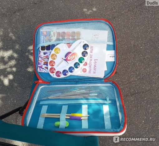 "Товары для творчества IKEA Сумка-планшет для рисования MÅLA ""Мола"" фото"