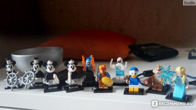 Lego Минифигурки Disney серия 2 фото