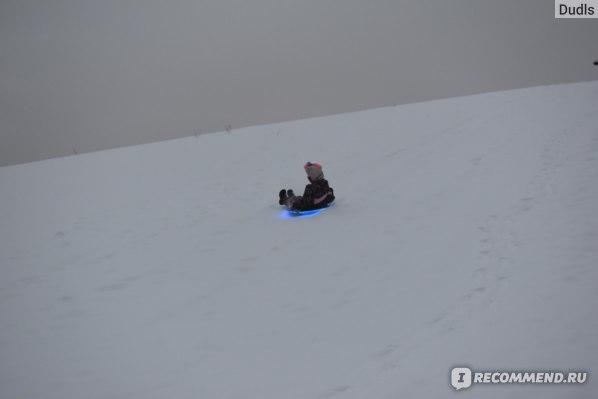 Ледянка Цикл  Kosmojastics с подсветкой (голубая)  фото