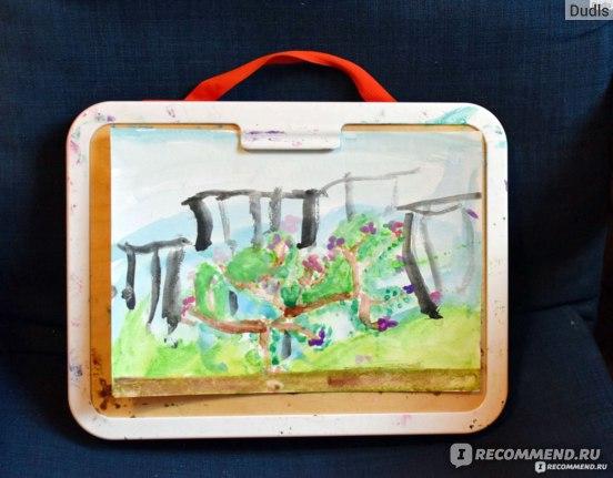 сумка-планшет для рисования MÅLA из икеа.