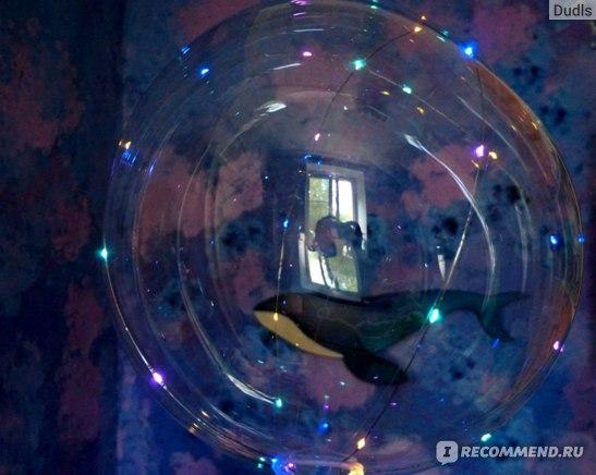 Шар воздушный Spinmarket Cветящийся со светодиодами LED Bobo на палочке фото