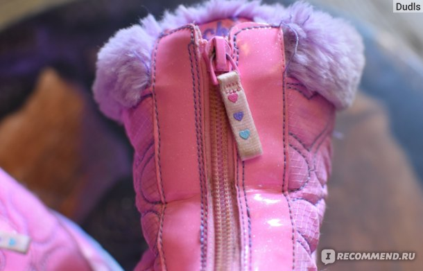 Сапоги детские утепленные SKECHERS Heart Lights Артикул: PX7NCYHGJM фото