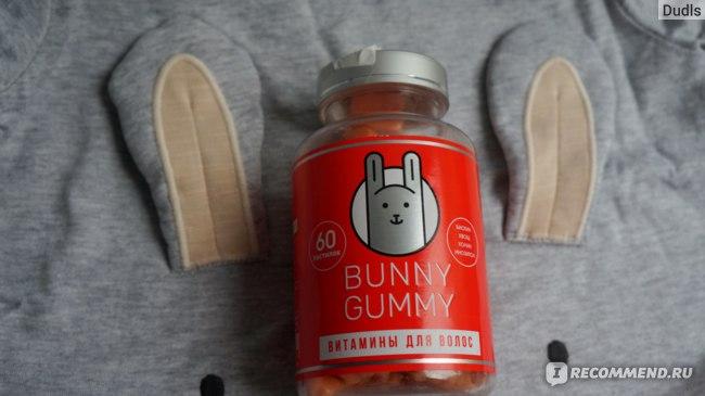 Витамины для волос BunnyGummy для укрепления и роста фото