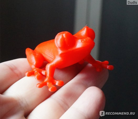 лягушка модель для 3д принтера
