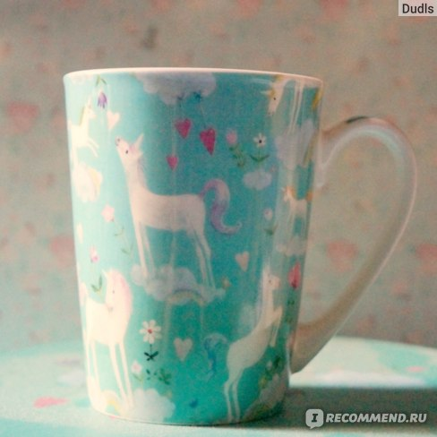 Набор посуды Paperproducts Design  в подарочной коробке White Unicorns фото
