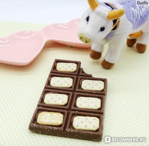 Молочный шоколад Milka TUC фото