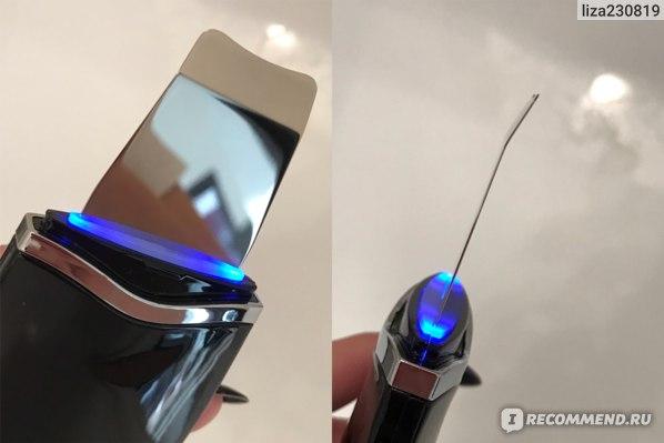 Аппарат для ультразвуковой чистки лица CkeyiN Sonic Skin Scrubber фото