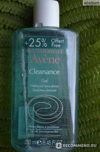 Гель для умывания Avene Cleanance фото