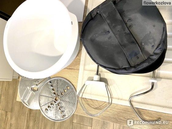 Насадки для теста с сумкой, терки и чашка