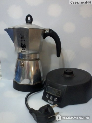 Кофеварка Bialetti гейзерная Moka Timer (электрическая) фото