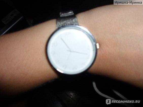 Часы Aliexpress New Minimalism Women Lady Fashion Stainless Steel Mesh Analog Bracelet Wrist Watch Candy Colors фото