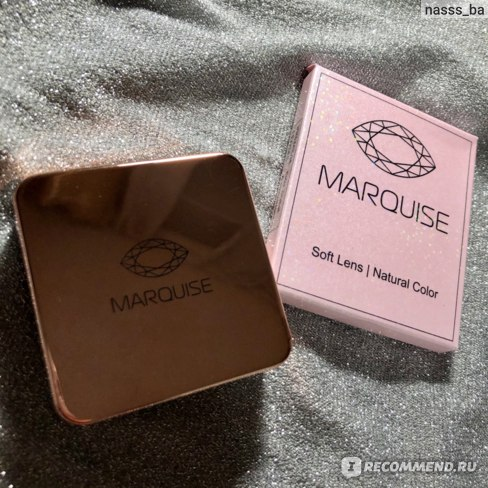Контактные линзы цветные MARQUISE Crystal фото