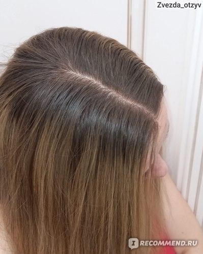 Состояние волос спустя 2ое суток с момента покраски.