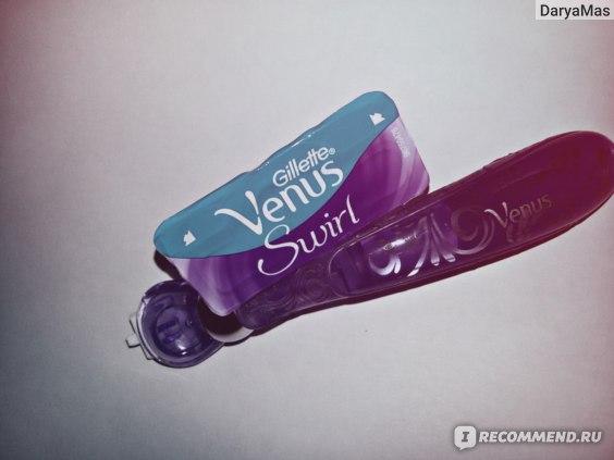 Бритвенный станок Gillette Venus Swirl, с 1 сменной кассетой фото
