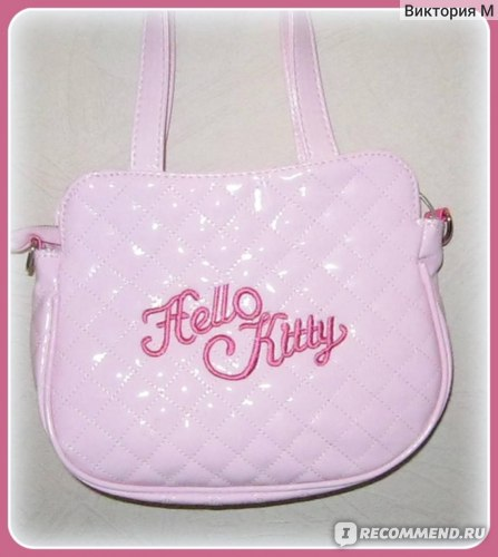 b96f8bb4d7 Сумочка дамская Ebay NEW HELLO KITTY SMALL BAG W  SHOULDER STRAP PURSE 5010- 1P