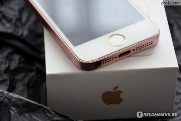 Смартфон Apple iPhone SE динамики, джек 3,5, Touch iD