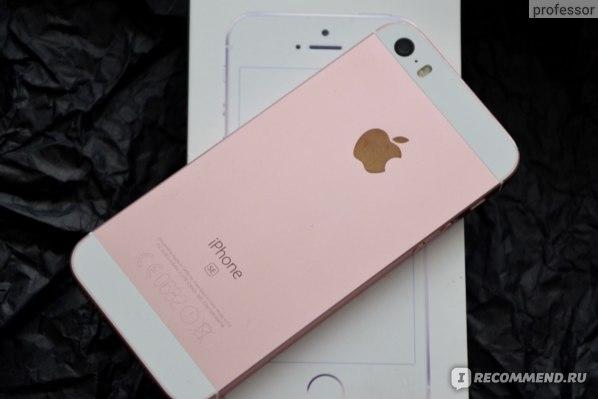 Смартфон Apple iPhone SE в розовом цвете