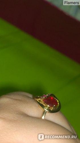 Кольцо Avon Сокровища индии фото