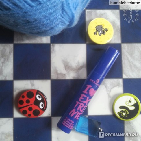 Тушь для ресниц Essence I love extreme volume mascara waterproof фото
