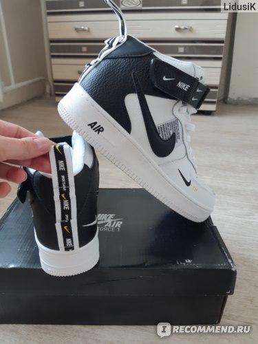 Кроссовки Aliexpress Nike Air Force 1 New Arrival Men's Skateboarding Shoes Antiskid Air Cushion Original Sports Sneakers фото