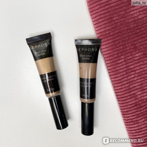 Жидкие тени для век Sephora Tinted & Cooling Eye Primer фото