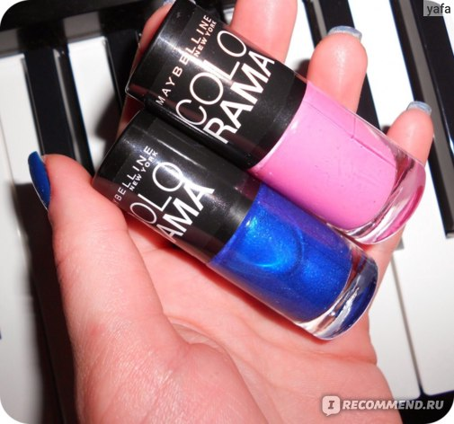 Лак для ногтей MAYBELLINE Colorama New York фото