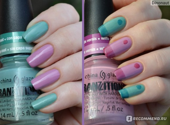 China Glaze Duplicityy + Split Perso-nail-ity